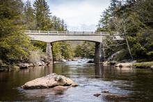 Bridge At Blackwater Falls In ...