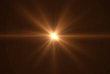 Beautiful Optical Lens Flare Effect