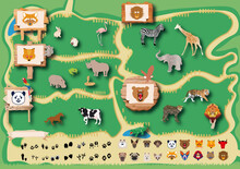 動物園, 動物, 生物, タ...