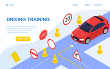 Driving School Concept And Tra...