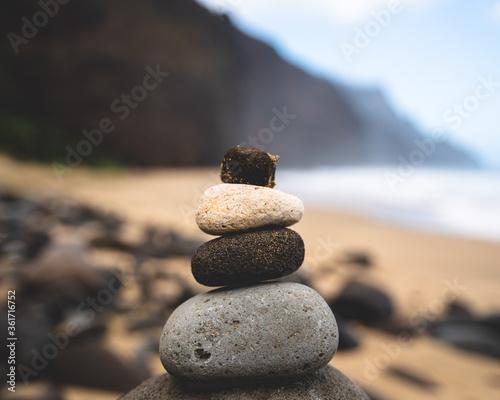 stones on the beach Fototapeta