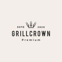Grill Crown King Fork Hipster ...