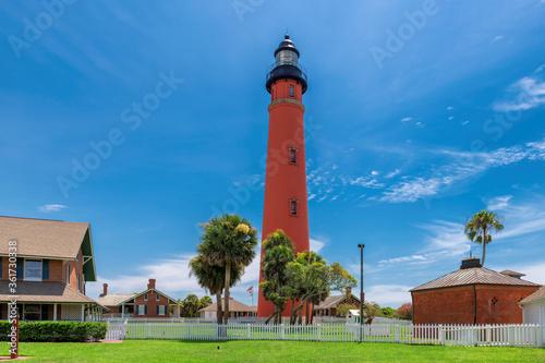Photo Ponce Leon Lighthouse, Daytona beach, Florida.