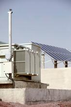 Meter Box In Solar Photovoltai...