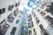 Modern Buildings. Living House...