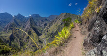 Hiking Trail Along The Crater ...