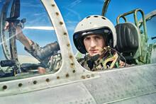 Pilot Of Airplane