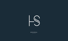 Alphabet Letter Icon Logo HS