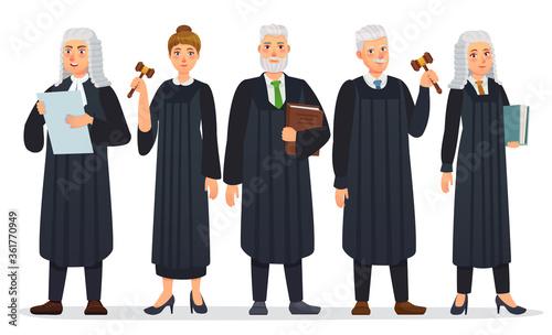Fototapeta Judges team