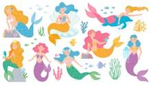 Mermaid. Cute Mythical Princes...