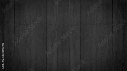 Fototapeta old black grey gray rustic dark wooden texture - wood background obraz na płótnie
