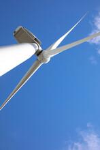 Wind Turbine Against Beautiful...