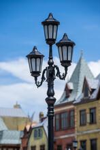 Street Lamppost Against The Ol...