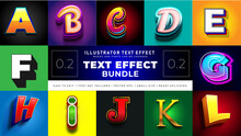 Modern Text Effect Bundle 2