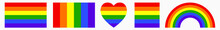 Gay Pride Rainbow Flag Vector ...