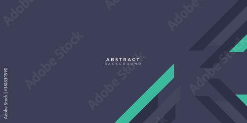 Abstract modern green tosca lines background vector illustration presentation design Fototapet