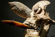 Mexica Ornamental Skull Mask E...