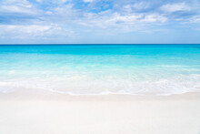 Beautiful Beach With Turquoise...
