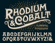 Rhodium & Cobalt Is A Vintage ...