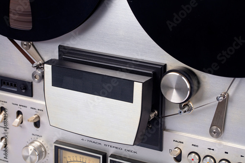 Photo Detail from Audio Tape Recorder