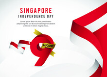 Singapore Independence Day Vec...