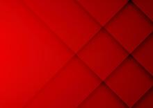Red Geometric Vector Backgroun...