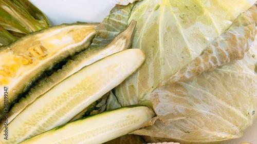 Valokuvatapetti 腐った野菜