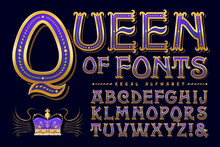 Queen Of Fonts Is A Regal Anti...