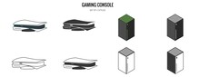 Gaming Consoles Vector Icon Video Games Next Generation
