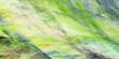 Leinwandbild Motiv Abstract green and beige chaotic glass shapes. Fantasy geometric fractal background. Digital art. 3d rendering.