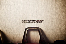 History Concept View