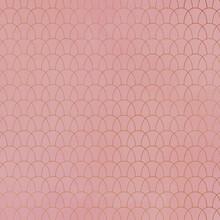 Seamless Copper Pattern On Vintage Rose Background
