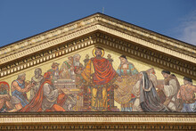 The Facade Of The Art Gallery ...