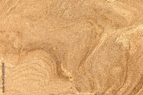 Canvastavla Brown marble stone tile floor texture and seamless background