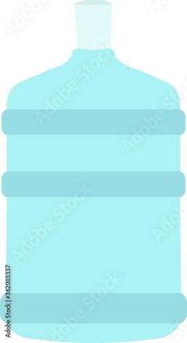 Valokuvatapetti Water Bottle Carboy
