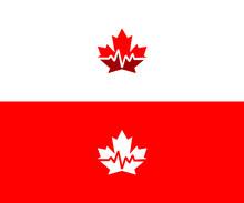 Canada Medical Logo Design Vec...