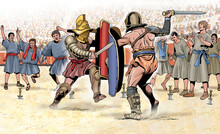 Ancient Rome - Fight Between G...