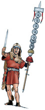 Ancient Rome - A Signifer, Was...