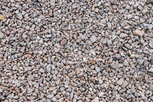 Small Rocks Backdrop For Wallpaper, Desktop Background. Textured Element. Multicolor Gravel Style. Beautiful Minerals.