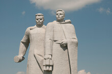 """The Memorial Complex """"To The Panfilov Heroes"""" (""""Feat 28""""). Moscow Region."""