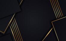 Modern Luxury Dark Overlapping...
