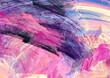 Leinwandbild Motiv Bright artistic splashes. Abstract painting color texture. Modern futuristic pattern. Multicolor dynamic background. Fractal artwork for creative graphic design.