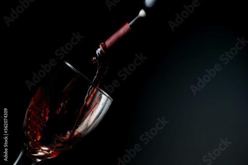Copa de vino Fototapete