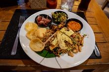 NASI GORENG, TRADITIONAL DISH FROM INDONESIA, BALI