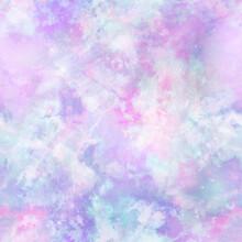 Pastel Gradient Tie Dye Print