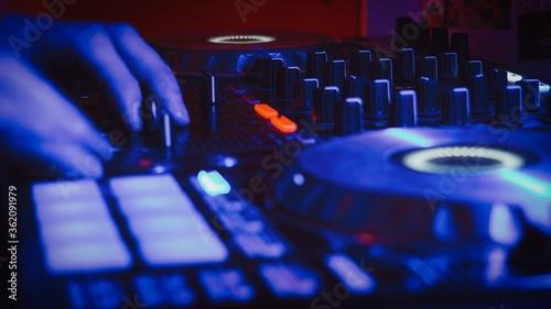 Fotografie, Obraz dj mixing console