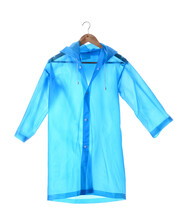 Stylish Raincoat On White Background