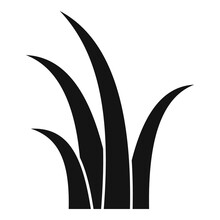 Herbs Grass Icon. Simple Illus...