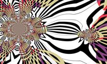 Modern Futuristic Pattern. Dyn...