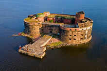 An Old Abandoned Fort Out Of R...